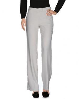 Повседневные брюки SFIZIO. Цвет: светло-серый