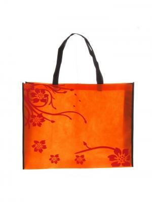 Сумка Рапсодия оранжевая А М Дизайн. Цвет: черный, коралловый, оранжевый