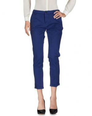 Повседневные брюки PENCE. Цвет: синий
