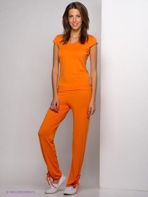 Брюки LingaDore. Цвет: оранжевый