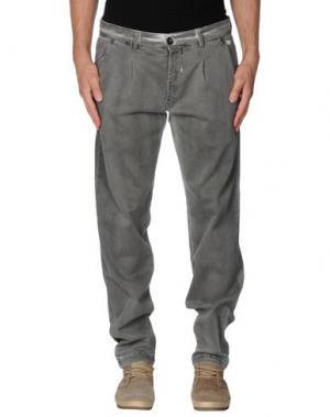 Джинсовые брюки BASICON. Цвет: серый