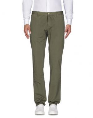 Повседневные брюки SOHO. Цвет: зеленый-милитари