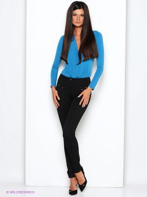 Блузка- боди Alina Assi. Цвет: бирюзовый