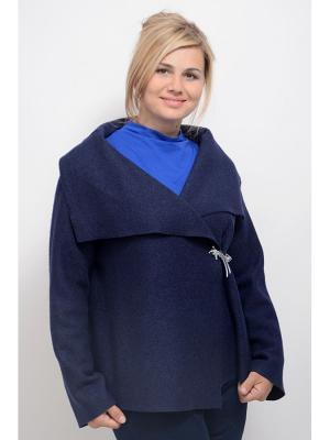 Жакет Мирра LINO RUSSO. Цвет: темно-синий