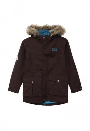Куртка Jack Wolfskin. Цвет: коричневый