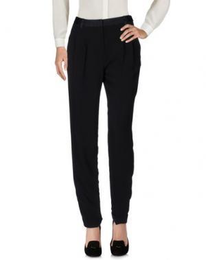 Повседневные брюки MASSCOB. Цвет: черный