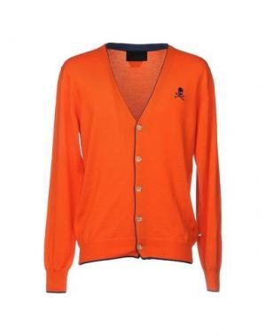 Кардиган PHILIPP PLEIN. Цвет: оранжевый