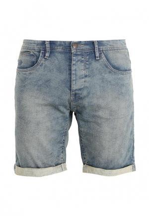 Шорты джинсовые Blend. Цвет: голубой