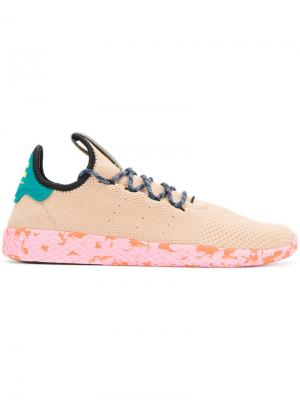 X Pharrell Williams Tennis Hu sneakers Adidas Originals. Цвет: телесный