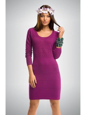 Платье PELICAN. Цвет: лиловый