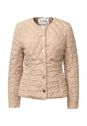 Куртка утепленная Tutto Bene. Цвет: бежевый