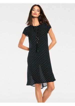 Платье Rick Cardona. Цвет: черный/белый
