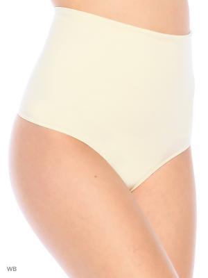 Корректирующее белье Lemila lingerie. Цвет: светло-желтый