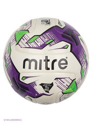 Мяч MITRE. Цвет: сиреневый, белый, черный, зеленый