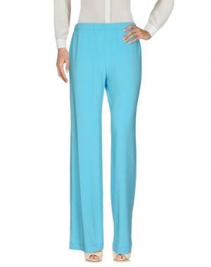 Повседневные брюки SORELLE SECLÌ. Цвет: бирюзовый