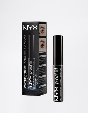 NYX Professional Makeup Водостойкая тушь-закрепитель для ресниц Make-Up Proof. Цвет: очистить
