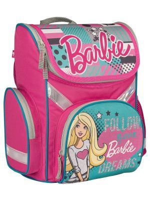 Рюкзак. Barbie. Цвет: голубой, розовый