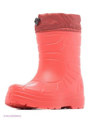 Резиновые сапоги Janett. Цвет: красный