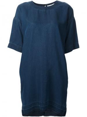 Джинсовое платье Kyoto Rag & Bone. Цвет: синий