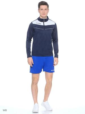 Толстовка HALF ZIPPED TRAINING SWEATER Patrick. Цвет: синий