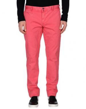 Повседневные брюки JAGGY. Цвет: коралловый