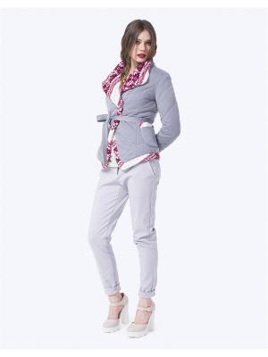 Куртка LO. Цвет: серый