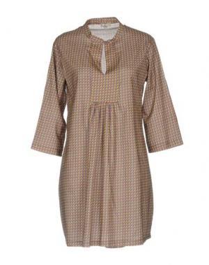 Короткое платье PYAAR. Цвет: розовато-лиловый