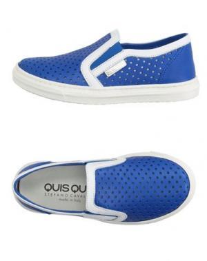 Низкие кеды и кроссовки QUIS. Цвет: синий