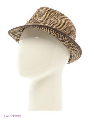 Шляпа Maxval. Цвет: бежевый, черный