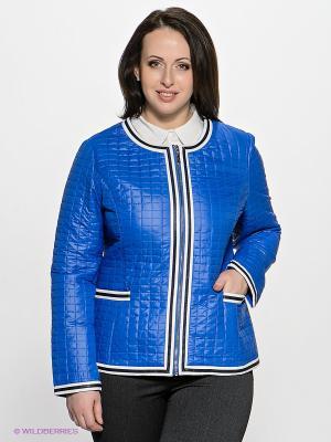 Куртка Sinta Via. Цвет: синий