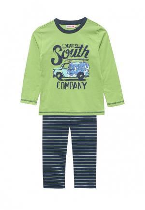 Пижама Boboli. Цвет: зеленый