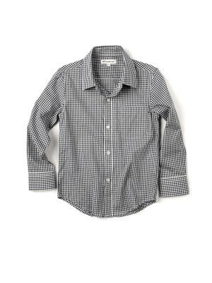 Рубашка Appaman. Цвет: серый, серебристый