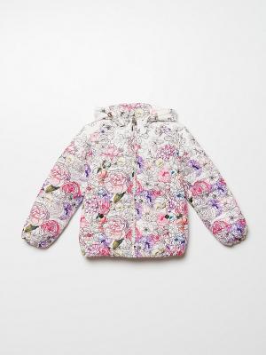 Куртка SELA. Цвет: белый