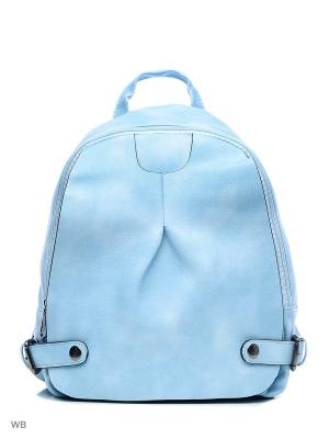 Рюкзак Sofiya. Цвет: голубой