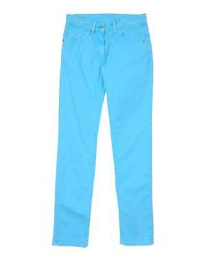 Джинсовые брюки DON WASH. Цвет: лазурный