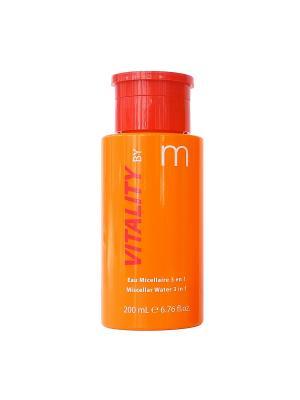 Энергия витаминов для молодой кожи мицеллярная вода снятия макияжа 3 в 1, 200 мл Matis. Цвет: прозрачный