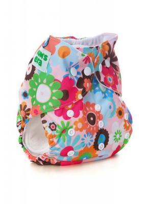 Многоразовый подгузник Mum`s Era. Цвет: розовый, белый, голубой, зеленый, коралловый, коричневый, оранжевый, фуксия