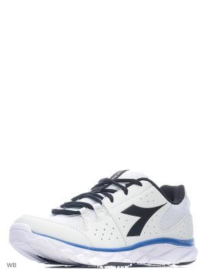 Кроссовки DIADORA. Цвет: белый, голубой, черный