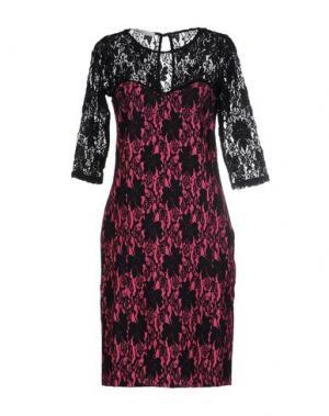 Короткое платье EAN 13. Цвет: фуксия