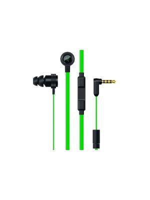 Наушники с микрофоном Razer Hammerhead Pro V2. Цвет: черный, зеленый