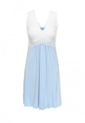 Сорочка ночная Monti&Farr. Цвет: голубой