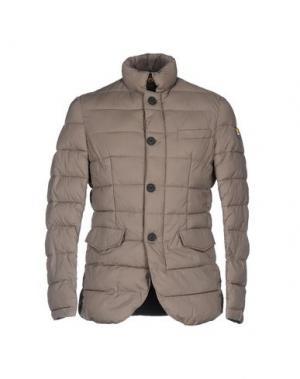 Куртка CIESSE PIUMINI. Цвет: голубиный серый
