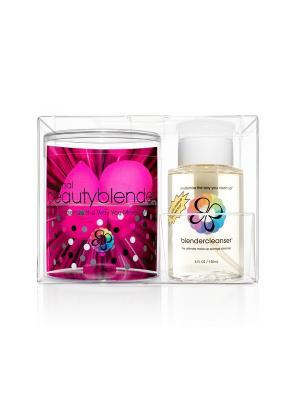 Спонж Beautyblender 2 спонжа original и очищ гель blendercleanser 150 мл. Цвет: розовый