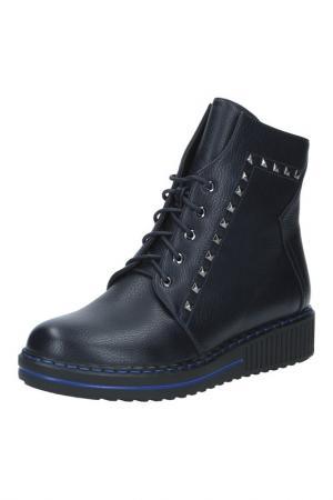Ботинки с декором Dino Ricci Trend. Цвет: синий
