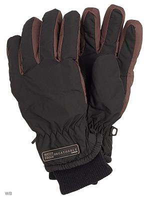 Перчатки MAXIMO. Цвет: черный, коричневый