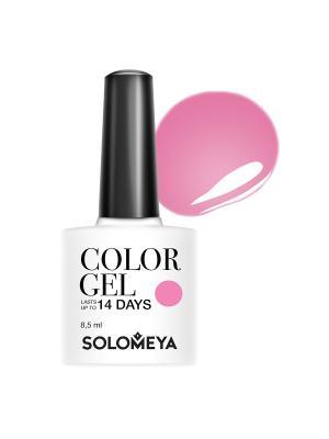 Гель-лак Color Gel My trustful SCGB032/Мой доверчивый SOLOMEYA. Цвет: розовый
