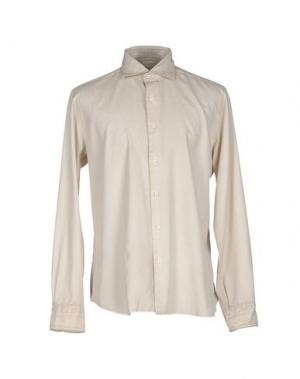Pубашка DANDYLIFE BY BARBA. Цвет: слоновая кость