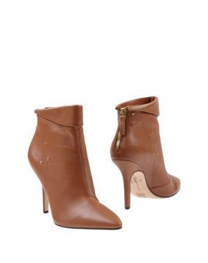 Полусапоги и высокие ботинки JÉRÔME DREYFUSS. Цвет: коричневый