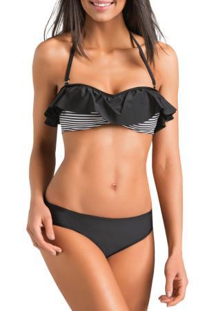 Swimsuit GWINNER. Цвет: black and white