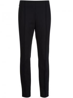 Укороченные брюки Lafayette 148. Цвет: чёрный